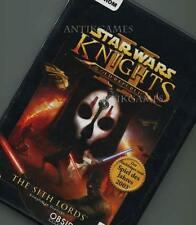 Star Wars Knights of the Old Republic 2 KOMPLETT Deutsch PC II KEIN IMPORT