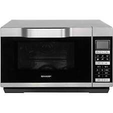 Sharp R861SLM 900W 25L Combination Microwave Oven Silver