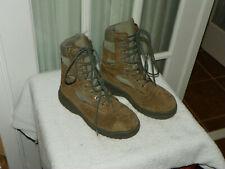 BELLEVILLE 610ST Steel Toe Hot Weather Boots Men's Size 5.5 W Sage Green USA