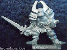 1987 Chaos Warrior 0204 17 CH3 Vile the Twisted Citadel Champion Warhammer Army