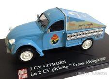 1/43 CITROEN 2CV PICK UP TRANS AFRIQUE 94 IXO AUTOPLUS ELIGOR DIECAST