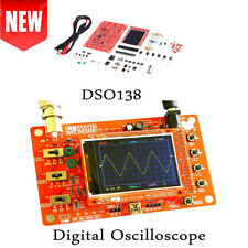 Assembled DSO138 2.4 TFT Digital Oscilloscope Kits DIY Parts ( 1Msps ) + Probe