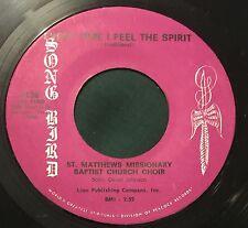 Song Bird 1136 45 ST MATTHEWS MISSIONARY BAPTIST CHURCH CHOIR Every Time I Feel