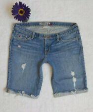 HOLLISTER Juniors Low Rise Denim Shorts Size 5