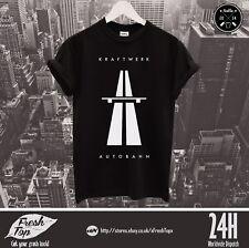 Kraftwerk T Shirt Atuobahn Wave Techno Acid Highway Roland Synthesizer Yamaha