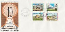 Samoa I Sisifo FDC 1972