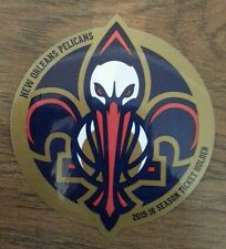 NEW ORLEANS PELICANS 2015-2016 SEASON TICKET HOLDER STICKER STH ANTHONY DAVIS