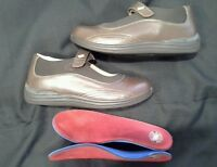 Drew Leather Man Made Brown Orthopedic Shoes  Lynco Orthotics sole Inserts