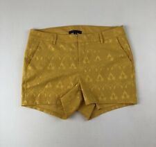 NWT Torrid Insider Collection Floral Damask Golden Yellow Shorts Sz 16