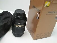 Nikon NIKKOR 55-300mm f/4.5-5.6 VR AF-S ED Lens NEW NEVER USED
