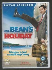 MR BEAN'S HOLIDAY - sealed/new - UK REGION 2 DVD - Rowan Atkinson