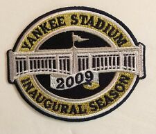 "New York Yankees MLB Yankee Stadium Inaugural Season Patch Iron On 3.9x3.3""inch"