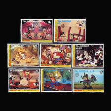 Gambia Block121 Never Hinged 1991 Walt-disney- Unmounted Mint complete Issue