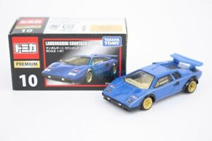 Takara Tomy Tomica Premium 10 Lamborghini Countach LP500S 1/61  Diecast Toy Car