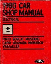 1980 FORD MERCURY BOBCAT ELECTRICAL Repair Service Shop Manual DEALERSHIP OEM