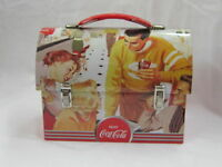 Coca-Cola Workman Carry Tin Lunch Box NEW