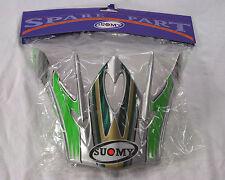 Suomy Spectre helmet visor -Green multi