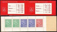 Slot Machine Booklet Finland Lion Type 1963 MNH No: 4