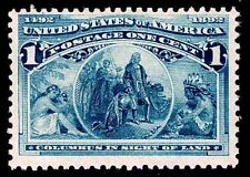 Us.#230 .01c Mint Columbian Issue - Ognh - Almost Vf - Cv$48.00 (Esp#4391)