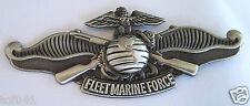 FLEET MARINE FORCE US MARINE CORPS Military Veteran Hat Pin 40095  (LARGE) HO LP