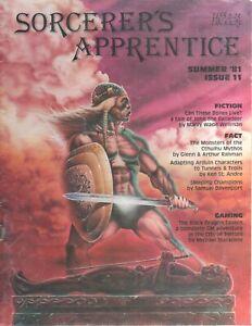 Sorcerer's Apprentice 11 Summer 1981  Flying Buffalo Champions Cthulha RPG Summe