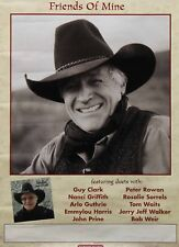 Ramblin' Jack Elliott Friends Of Mine Ft. Duets Hightone Records Promo Poster
