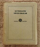 """1931 P&W PHILADELPHIA & WESTERN RAILWAY RAILROAD """"AUTOMATIC SWITCHGEAR"""" MANUAL"""