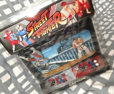 Street Fighter Capcom RYU Chun Li Round 1 Fight Arcade Collector's Pin Set NEW