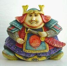 Samurai Warrior - Oddbods - NIB - Hard body Figurine - MPS Harmony Kingdom