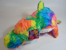 "HARD TO FIND Flip A Zoo Dolphin / Seal  2-in-1 Stuffed Animal 16"" inch FLIPAZOO"