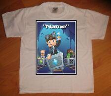 DanTDM Diamond Minecraft Tube Heroes Custom Personalize Birthday Gift T-Shirt