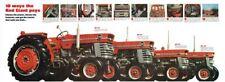 Vintage Massey Ferguson Tractor Super-Spec Range SALES BROCHURE/POSTER ADVERT A3