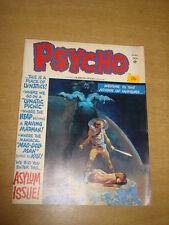 PSYCHO #12 FN (6.0) MAY 1973 SKYWALD HORROR MAGAZINE<