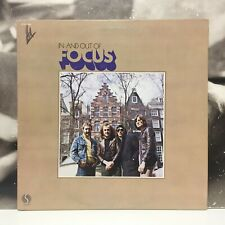 FOCUS - IN AND OUT OF FOCUS LP VG+/EX- 1973 US SIRE SAS 7404