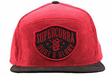 SUPERCOBRA CLOTHING [DUST&GLORY] SNAPBACK CAP KAPPE ROCKABILLY TATTOO INK   Supe