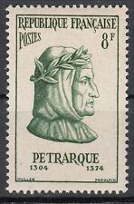 FRANCE TIMBRE NEUF N° 1082 ** PETRARQUE POETE ITALIEN