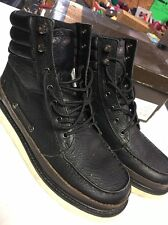 Rocawear Messenger 1010-21 Black Brown 8.5 Men's Boots