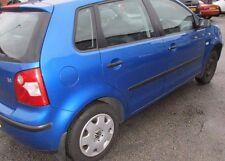 VW Volkswagen Polo 1.4 Gasolina Azul 2002-2009 Tuercas de Rueda Manual romper