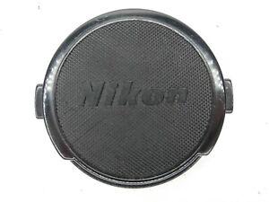 #2 Nikon Vintage 52mm Black Front Camera Lens Cap For Ai / Ai-S / Non Ai