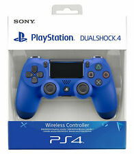 SONY CONTROLLER DUALSHOCK V2 PS4 PLAYSTATION 4 NUOVO BLU WIRELESS