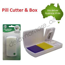 Pill Cutter Box Tablet Splitter Divider Convenient Portable Medicine Organizer