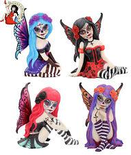 More details for nemesis now sugar skull fairy figurine valentina rosalia azula esmerelda gothic