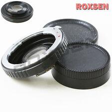 AF Confirm Pentax K PK Mount Lens to Nikon F Camera Optical Adapter D600 D3200