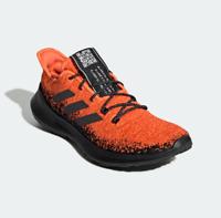 adidas Mens Sensebounce+ Running Shoes G27233 Black/Orange NWB