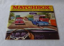 Matchbox-  Matchboxkatalog 1969  USA Edition