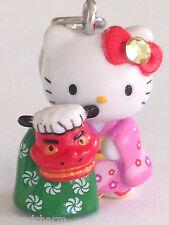 ❤️Sanrio Hello Kitty FESTIVAL GOTOCHI Netsuke Charm Mascot Phone Strap Japan❤️