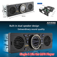 Bluetooth Car Stereo Audio FM Aux Input Built-in 2 Speaker USB MP3 Radio Player
