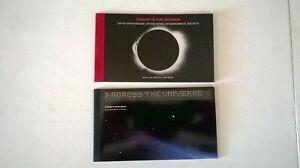 2 x Royal Mail Prestige Stamp Books ~ Across the Universe & Visions of Universe