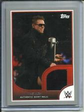 The Miz 2016 Topps WWE Authentic Event Worn Shirt #23/25