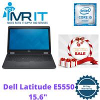 """Dell Latitude E5550 15.6"""" intel i5 5300U @ 2.3GHz 8GB RAM 256GB SSD Win 10 Pro"""
